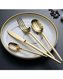 أدوات طعام Slim-ذهبي