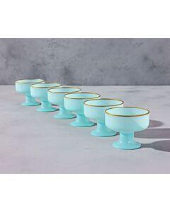 مجموعة كاسات آيس كريم كالريد آيس- لون أزرق