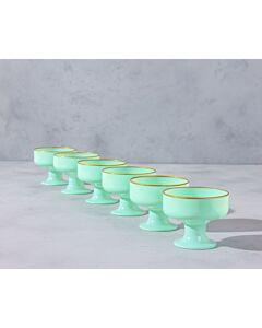 مجموعة كاسات آيس كريم كالريد آيس- لون أخضر