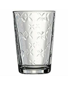 طقم كاسات شرب من الزجاج 6 قطع