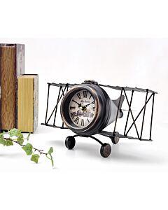 ساعة ديكور JET PLANE- برونزي