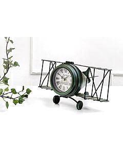 ساعة ديكور JET PLANE- أخضر