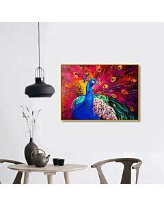لوحة Peacock