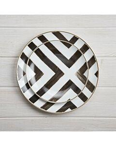 طقم أطباق Zebra line