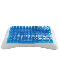 وسادة استرخاء من الفوم للراحة مع تقنية COOL GEL - أزرق