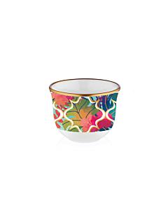 طقم فناجين قهوة عربية Hibiscus