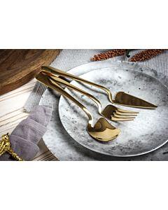 أدوات طعام Universal- ذهبي