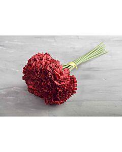 باقة ورد قرنفل- احمر