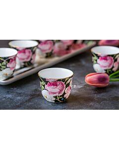 طقم فناجين قهوة عربية March flowers