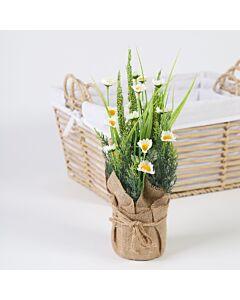 باقة Naria- زهور بيضاء