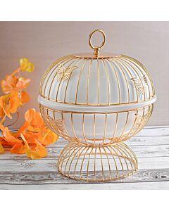 حافظة طعام Butterflies- مقاس صغير ذهبي