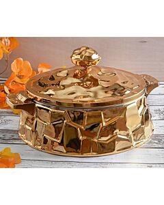 حافظة طعام Armada- مقاس كبير ذهبي