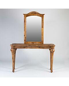 طاولة مدخل مع مرايا Perfect- لون خشبي