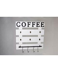 علاقة Coffee Time - أبيض