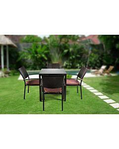 مجموعة طاولة وكراسي حديقة Jan