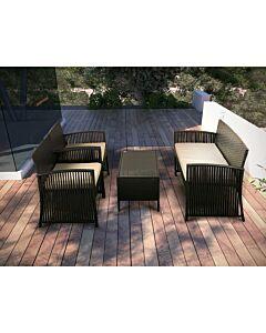 مجموعة طاولة وكراسي حديقة Holiday