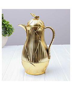 ترمس شاي أو قهوة رويال ليف- ذهبي سعة 1 ليتر
