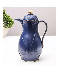 ترمس شاي أو قهوة رويال ليف- أزرق غامق سعة 0.7 ليتر