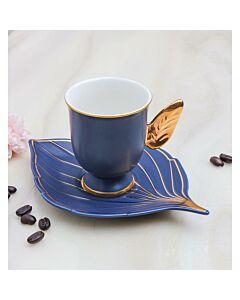 فناجين قهوة غلامور ليف- أزرق غامق