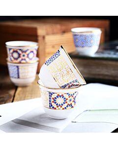 طقم فناجين قهوة عربية étoile