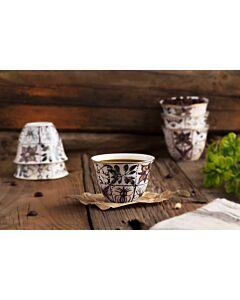طقم فناجين قهوة عربية Silk Road