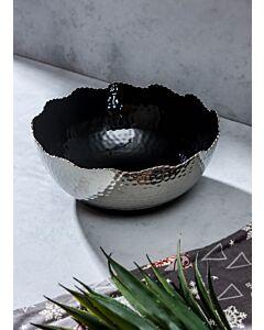 طبق تقديم فلورنسا- أسود وفضي
