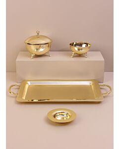 طقم تقديم تشارمينغ- لون ذهبي