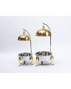 طقم سخانات رويال سيرفينغ ذهبي وفضي