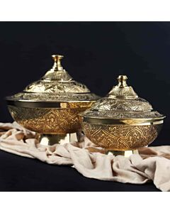 طقم تقديم Arabian Life-ذهبي