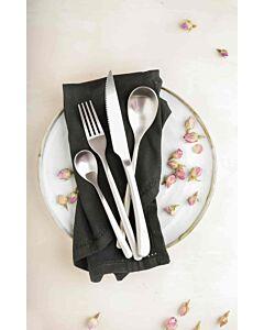 أدوات طعام Leuven باللون الفضي المطفي