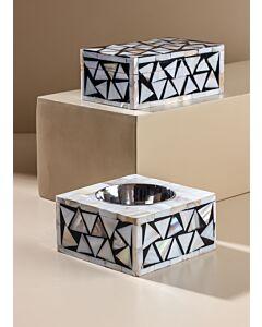 طقم مبخرة مع صندوق هاندا