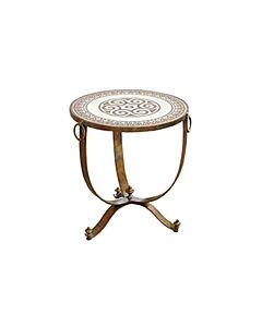 طاولة جانبية راوند روزي