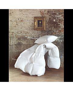 حشوة بيت لحاف مزدوج متحركة - أبيض