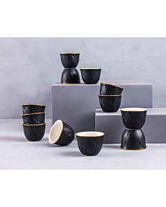 فناجين قهوة غلامور- أسود