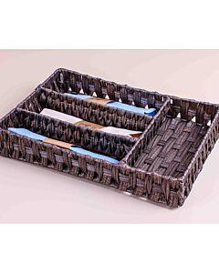 صندوق يونيك - بني غامق