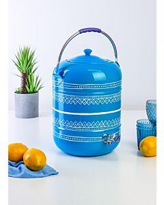 حافظة ماء مع صنبور كابور- أزرق