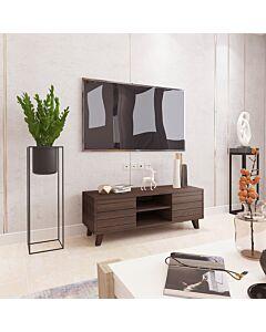 طاولة تلفزيون غراسيا- لون بني