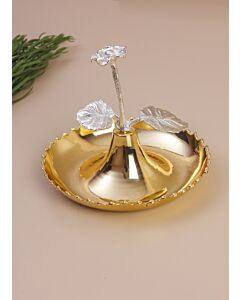 طبق تقديم غراند - ذهبي