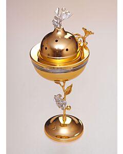 مبخرة روبن- لون ذهبي