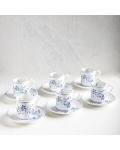 طقم فناجين قهوة blue roses