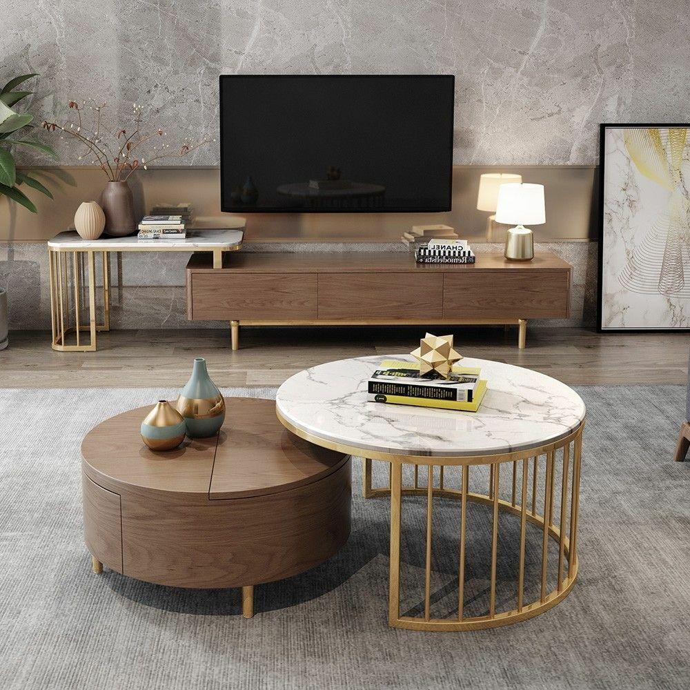 طاولة تلفاز كروسد ديزاين 80002