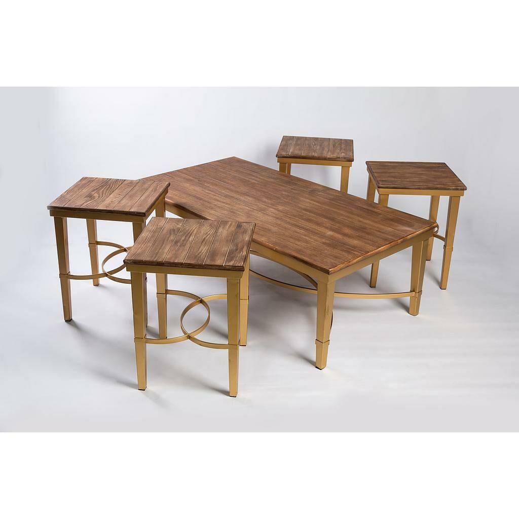 طقم طاولات Wooden Loops clas-373