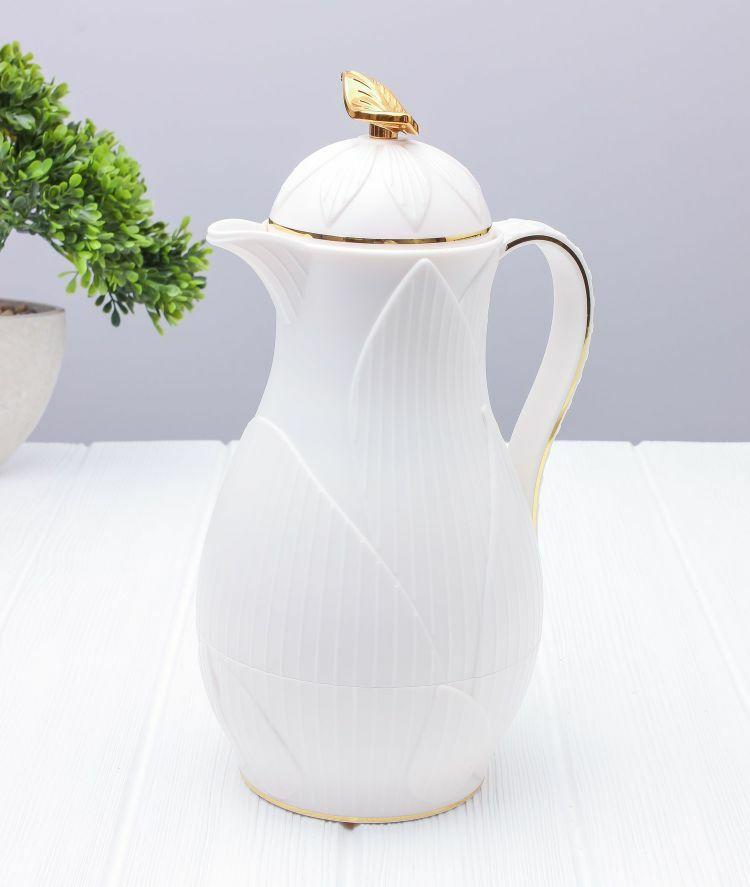 ترمس شاي أو قهوة رويال ليف- أبيض سعة 1 ليتر MEN-FL-66-WT ترامس القهوة والشاي 139.000000