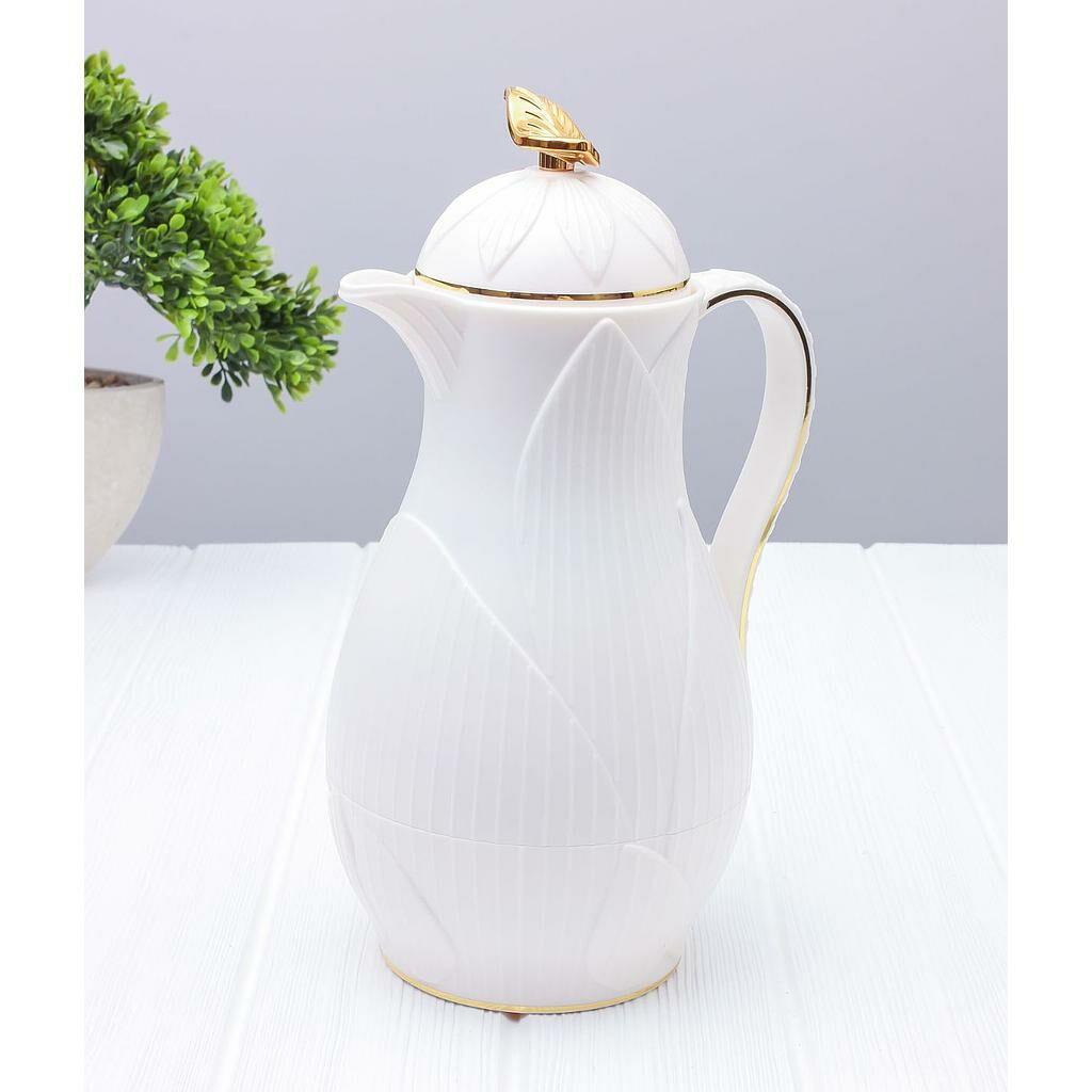 ترمس شاي أو قهوة رويال ليف- أبيض سعة 0.7 ليتر MEN-FL-667-WT