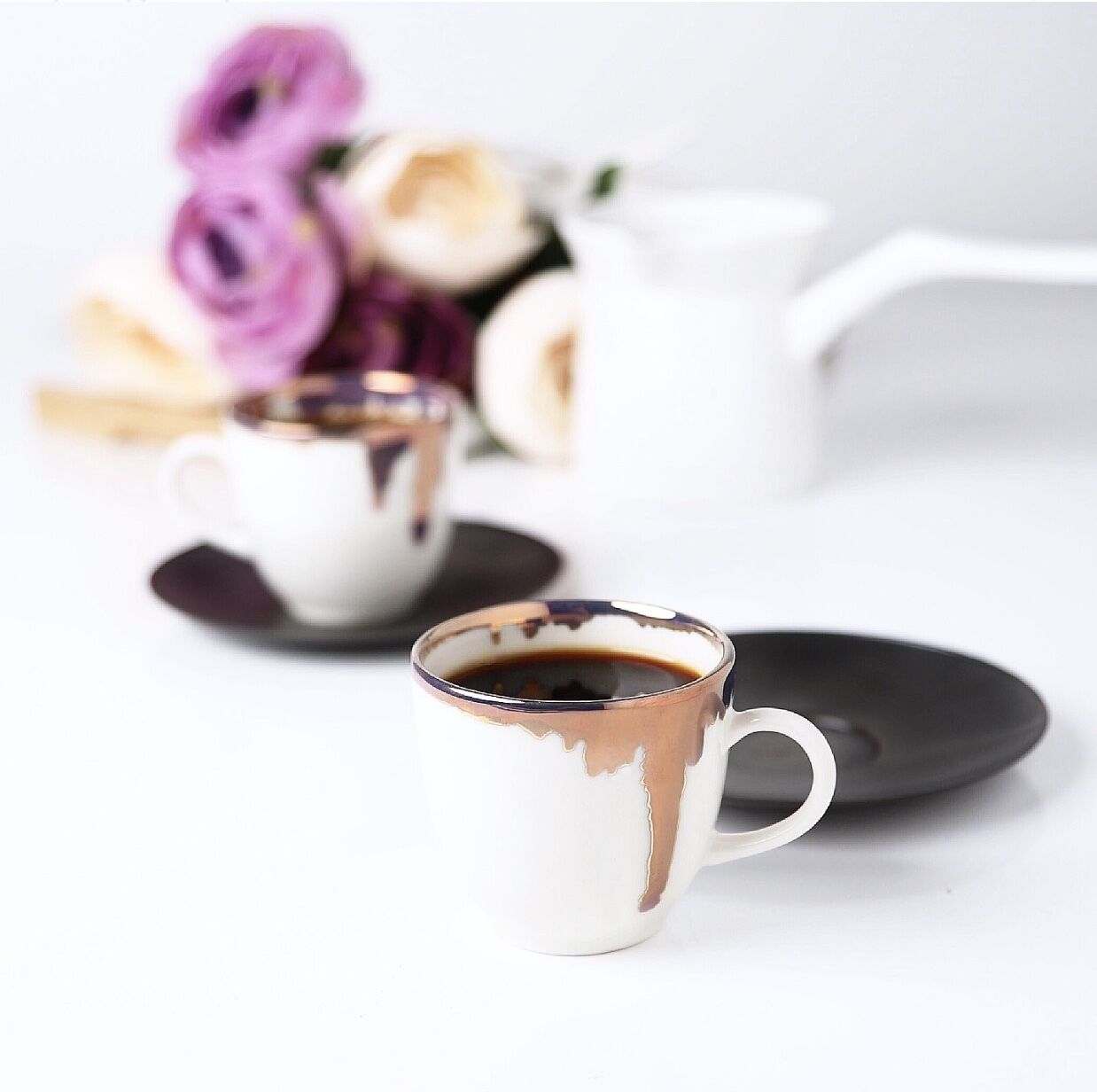 طقم فناجين قهوة coffee world RUS-002