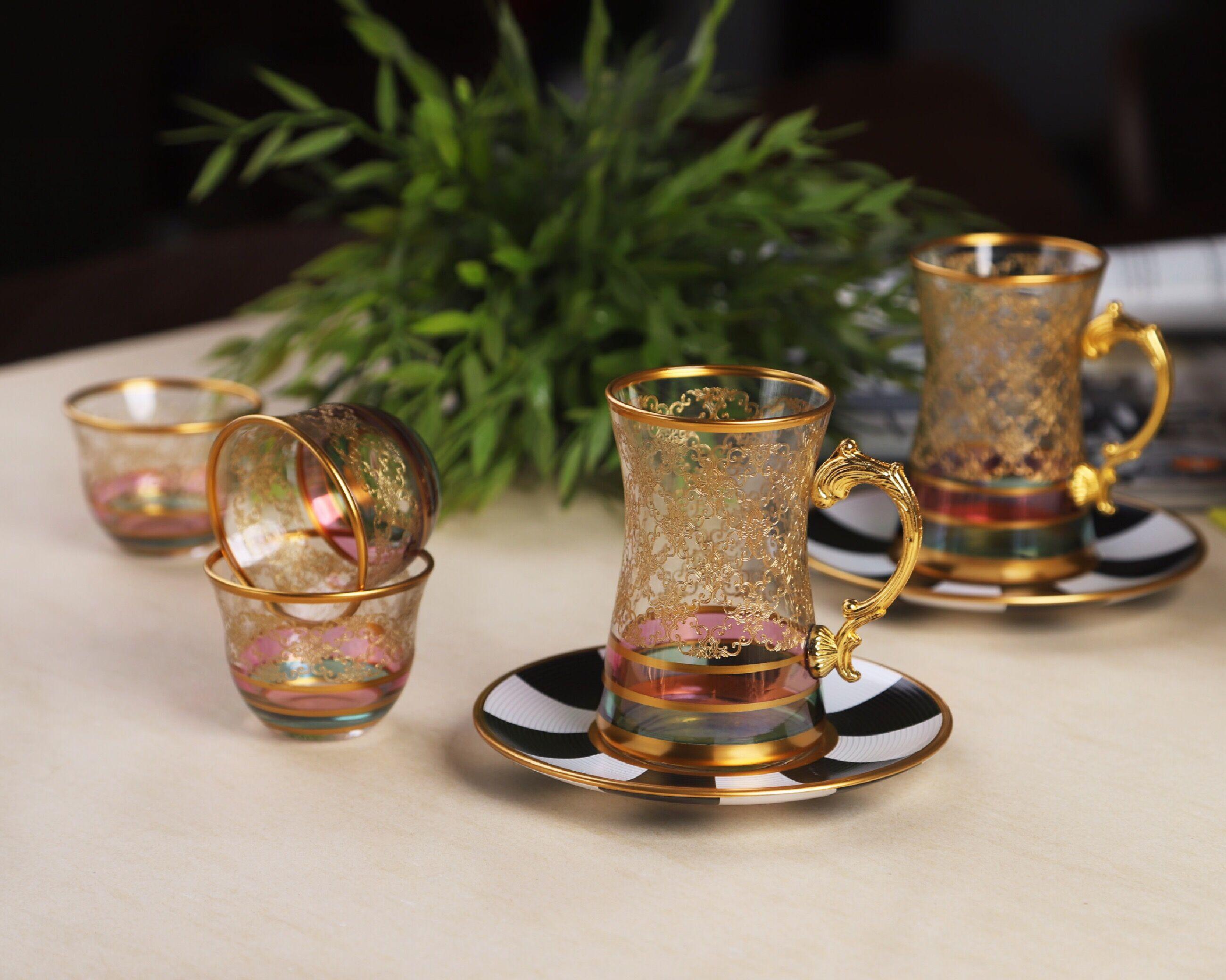 طقم شاي وقهوة Reem RUS-044