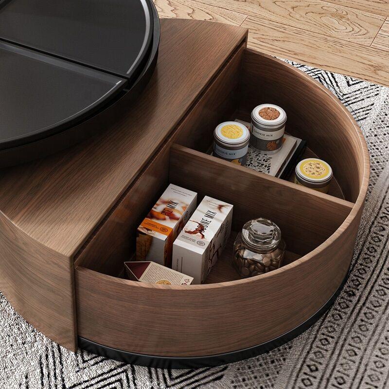 طاولة قهوة موديرن اليغانس- بني DLR-0041 اثاث 2599.000000