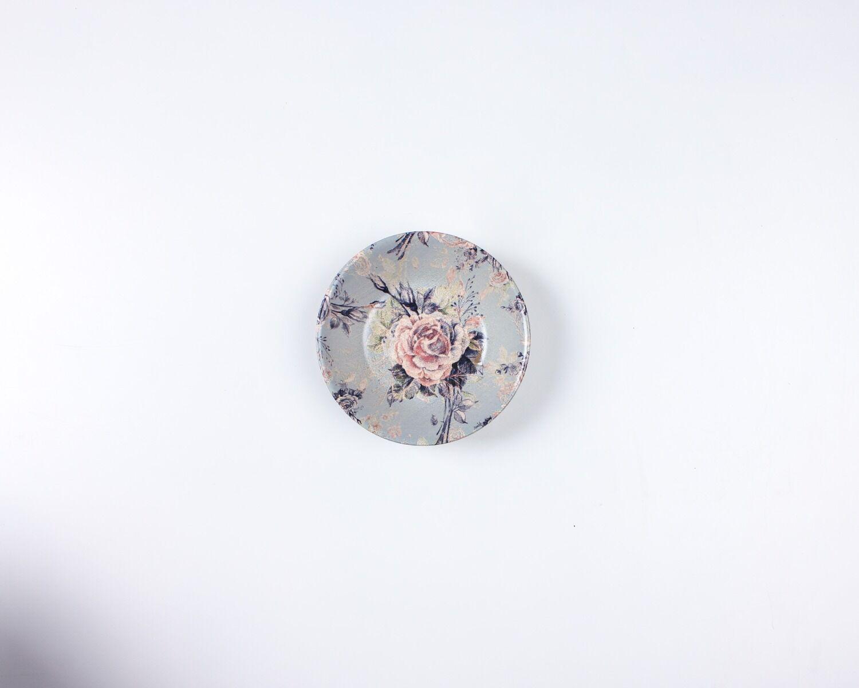 طبق Night Flowers - زبادي 18cm Mawa-17631-18