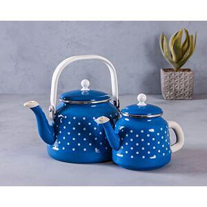 براريد شاي سمر - أزرق منقط