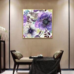 لوحة Violet Flowers